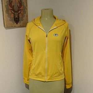 Green Bay Packers Reebok Full Zip Jacket